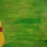 Badefreuden / Acryl auf Leinwand / 2012 / 100×60
